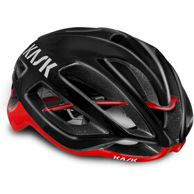 Kask Protone Fietshelm, black/red